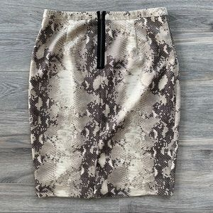 The Limited Skirts - The Limited Python Pencil Skirt